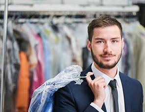Business Suit Dry Cleaning